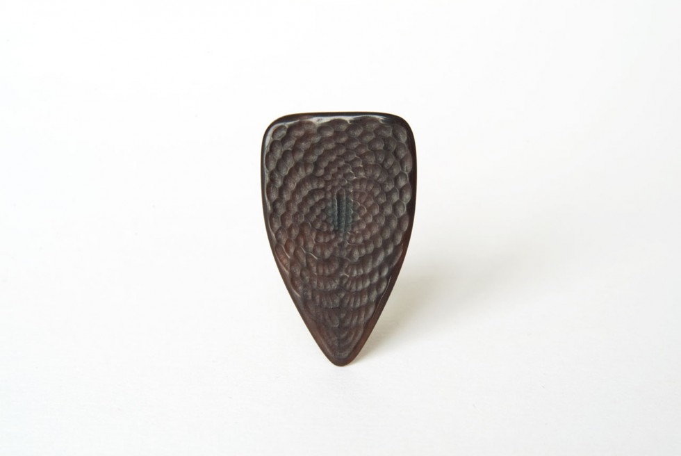 Long Guitar Pick • Natural Material Custom Made • For Electric Guitar and Bass, also great on Mandolines