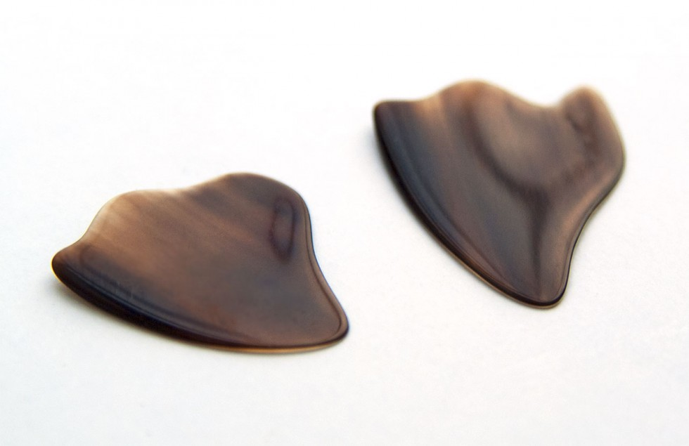 Guitar Picks • Matched Pair • The Ultimate Gift For Guitarists & Bass Players