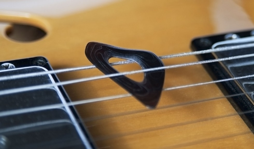Special Custom Guitar Pick • For Bass, Guitar and Mandolin